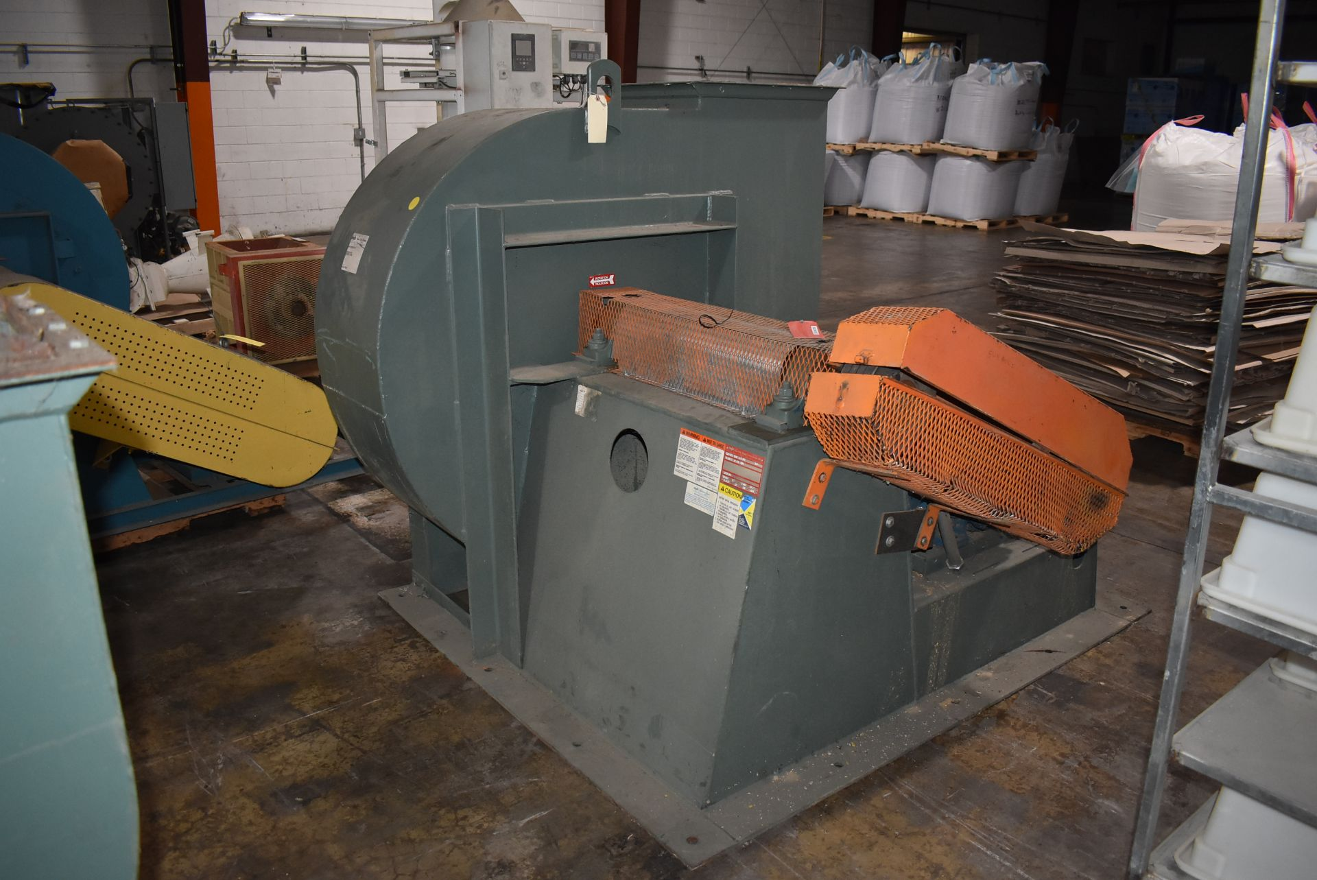 New York Blower, Size 364-DH w/40 HP Motor - Image 4 of 4