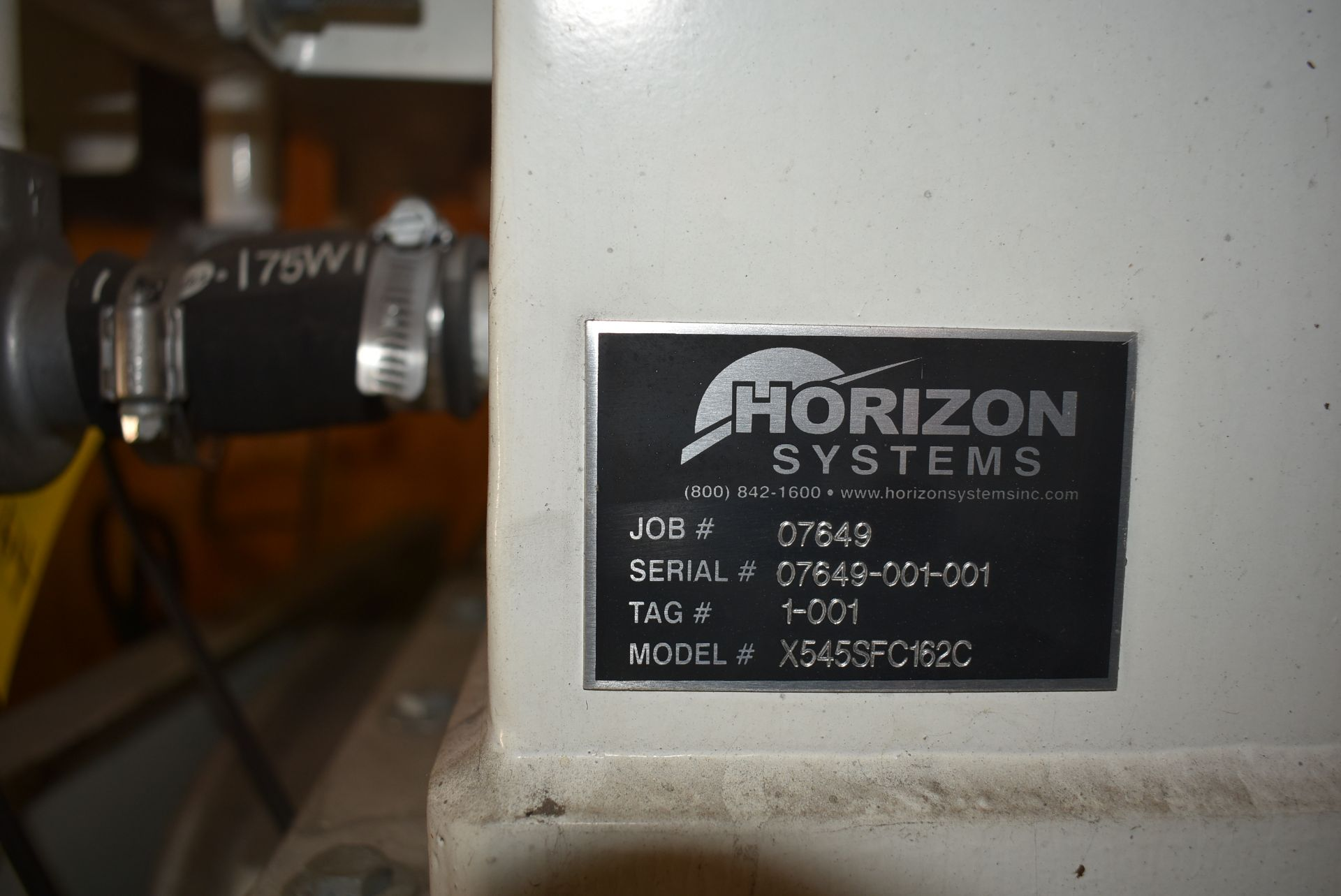 Horizon Systems Model #X5455FC162C Dust Collection System - Image 2 of 4