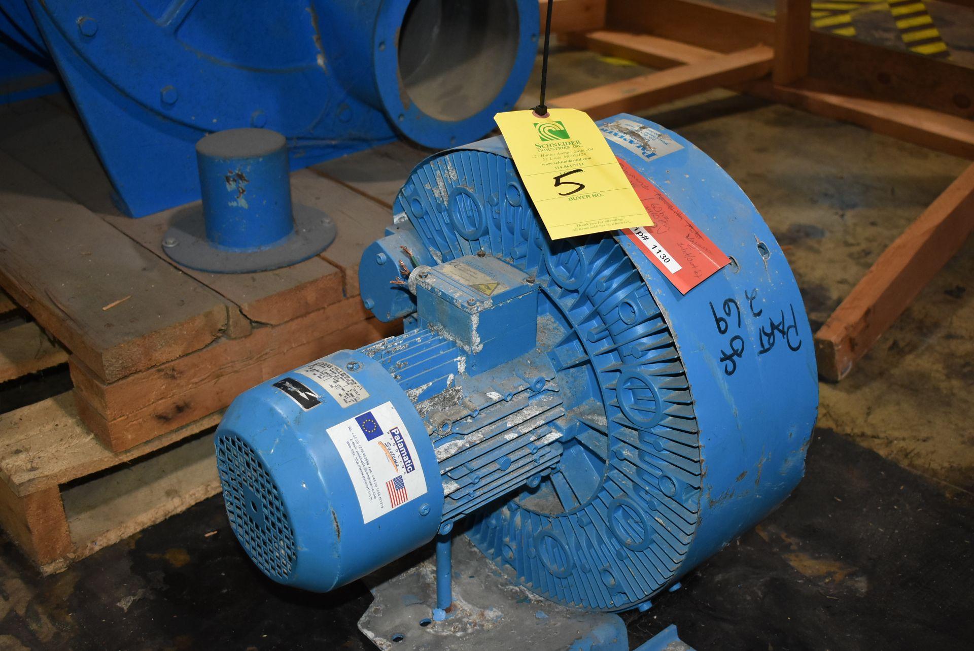 Palamatic Handling Systems w/Siemens Vacuum Unit
