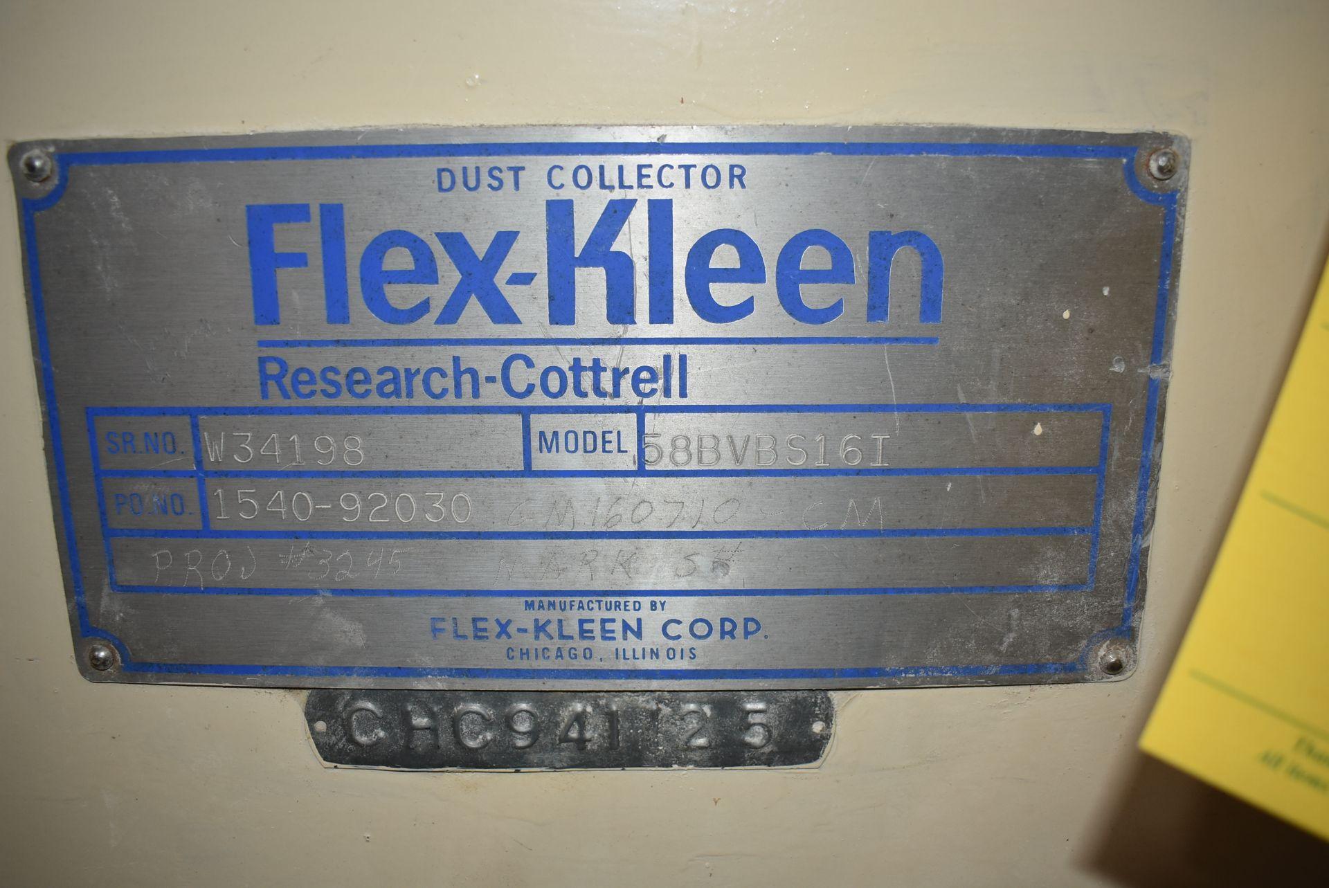Flex-Kleen Model #58BVBS16 I Dust Collector - Image 2 of 3