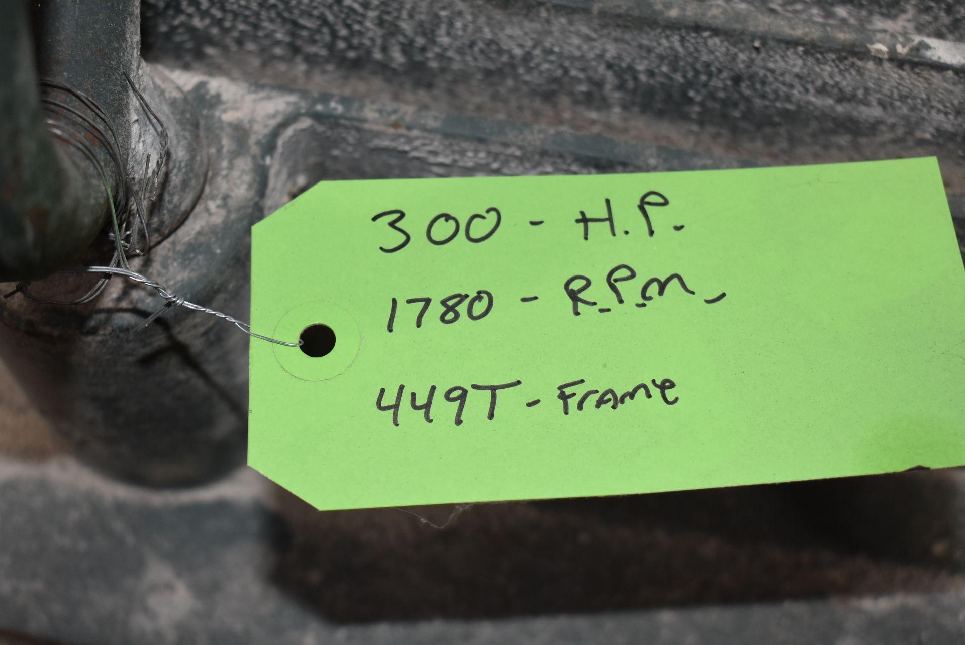 Bird 300 HP Motor, 1780 RPM - Image 3 of 4