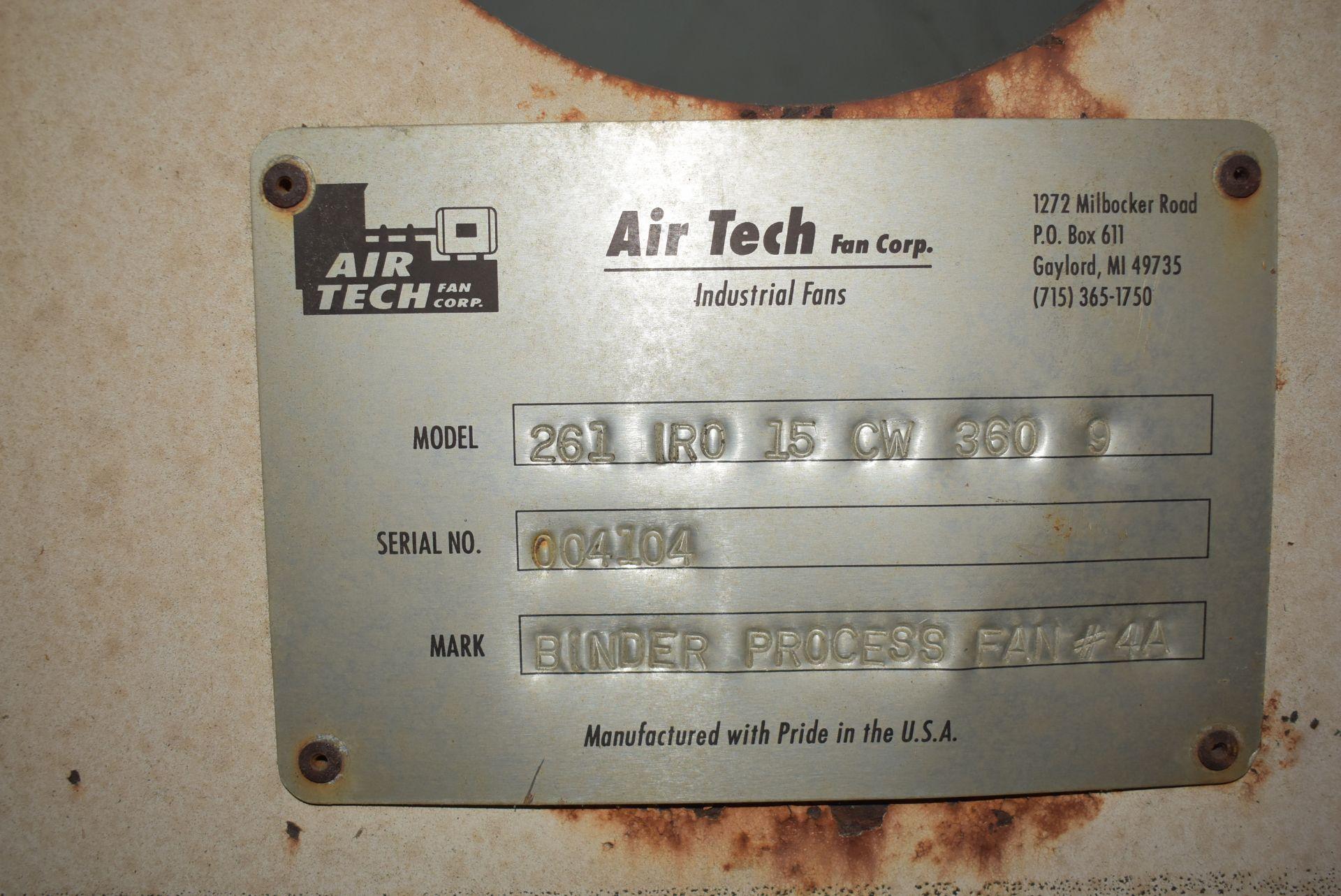 Air Tech Model #261-IRO Blower w/20 HP Motor - Image 3 of 4