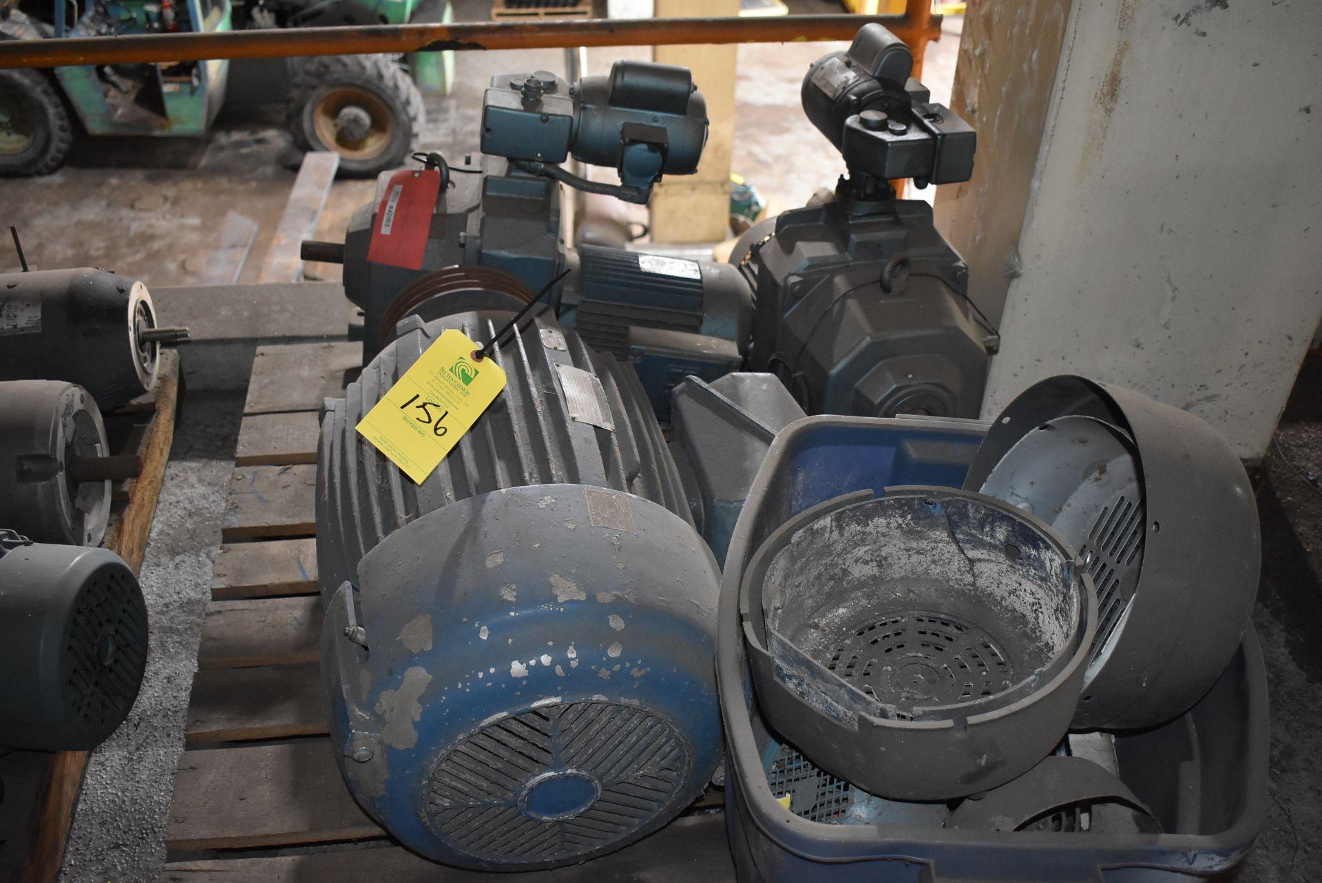 Skid o- (1) 40 HP Motor, Drives & Components
