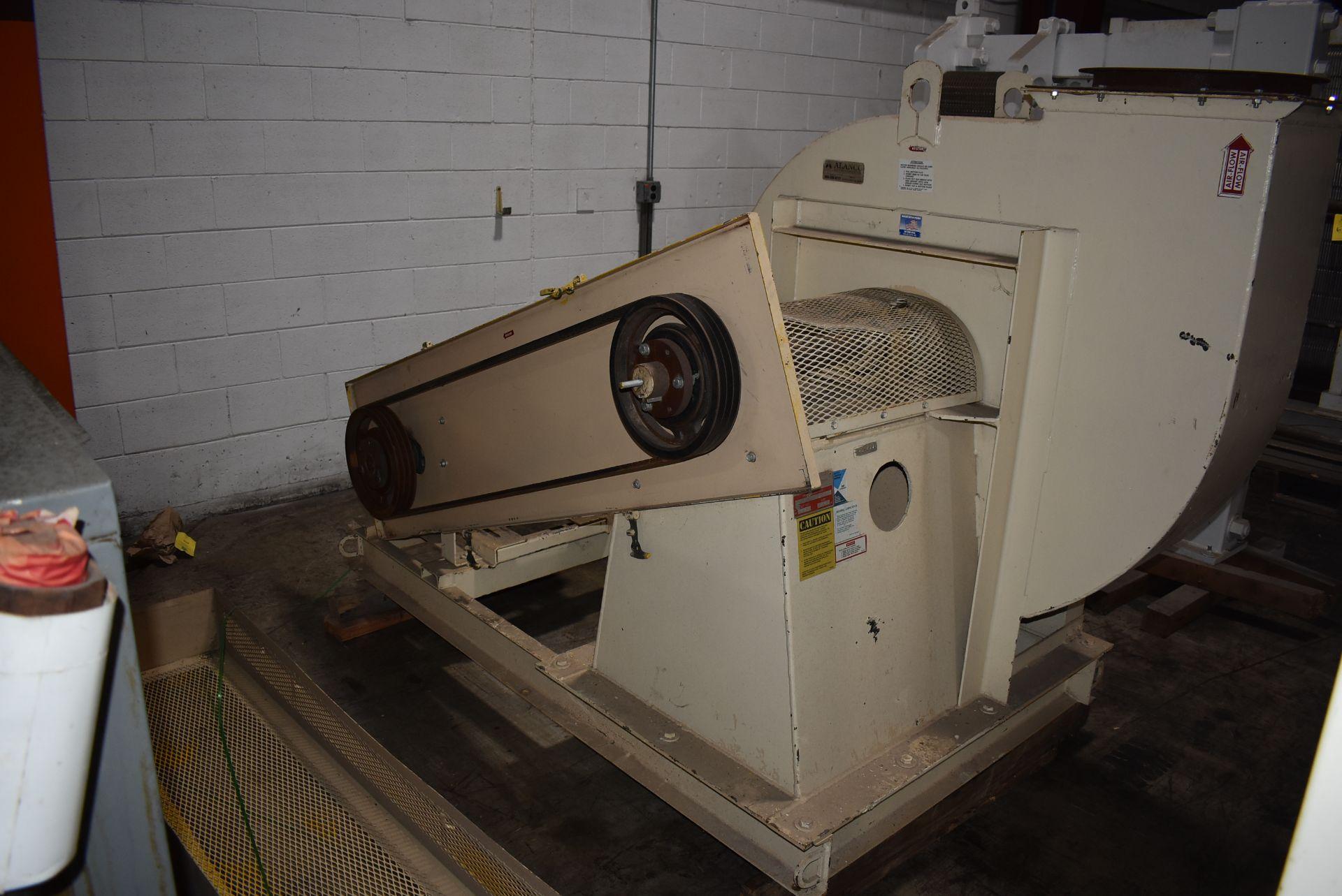 Alanco Environmental Model #334DH Blower w/50 HP Motor - Image 4 of 4