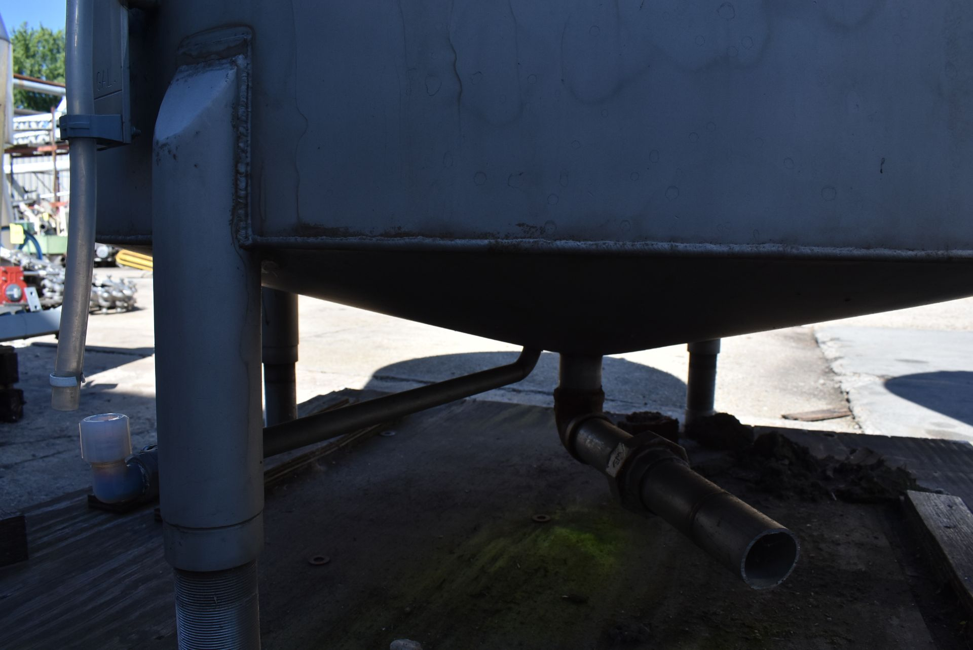 """Stainless Steel Tank, Rated 400 Gallons, 48"""" Diameter x 60"""" - Image 3 of 5"""