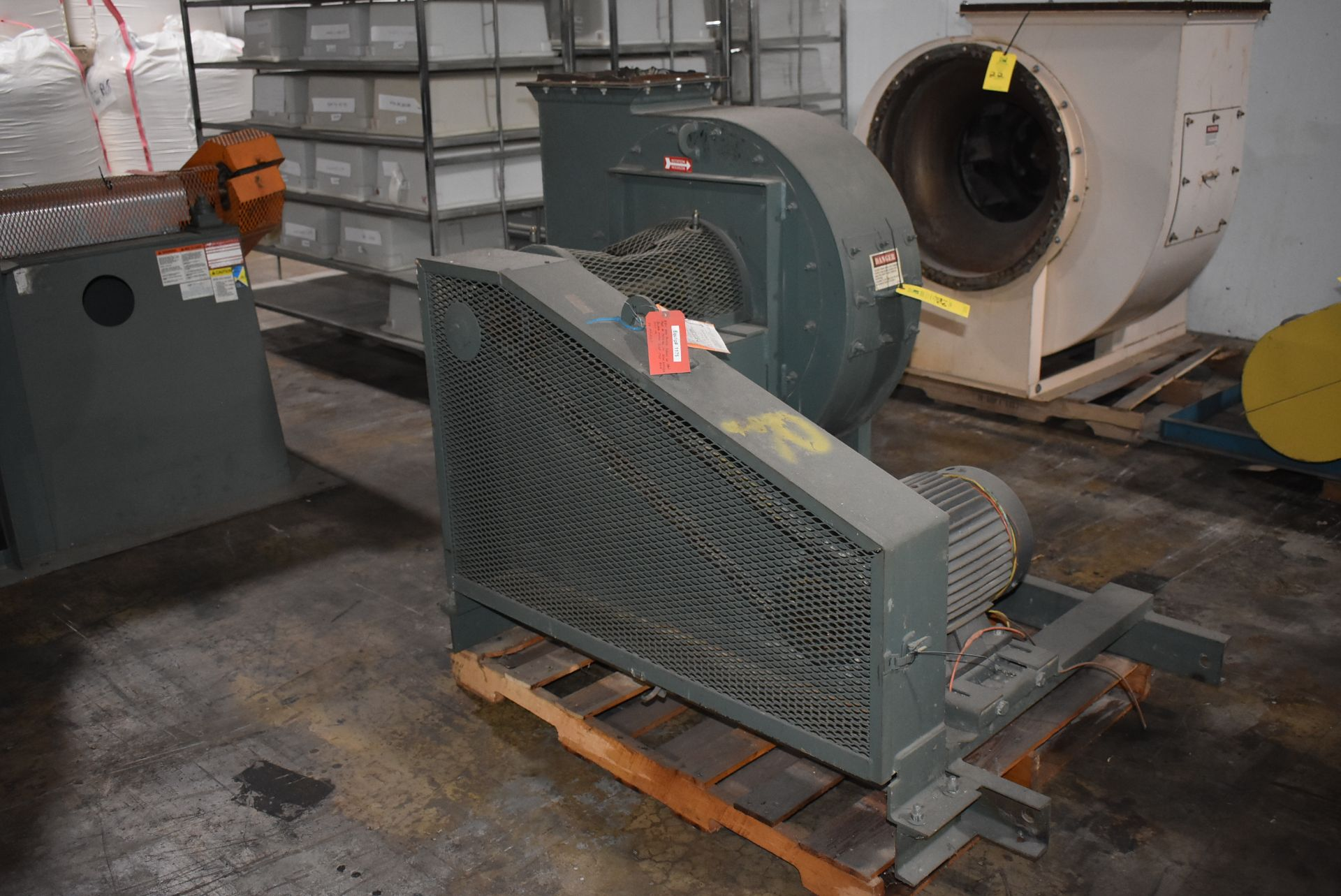 New York Blower, Size 224-OH w/15 HP Motor - Image 4 of 4