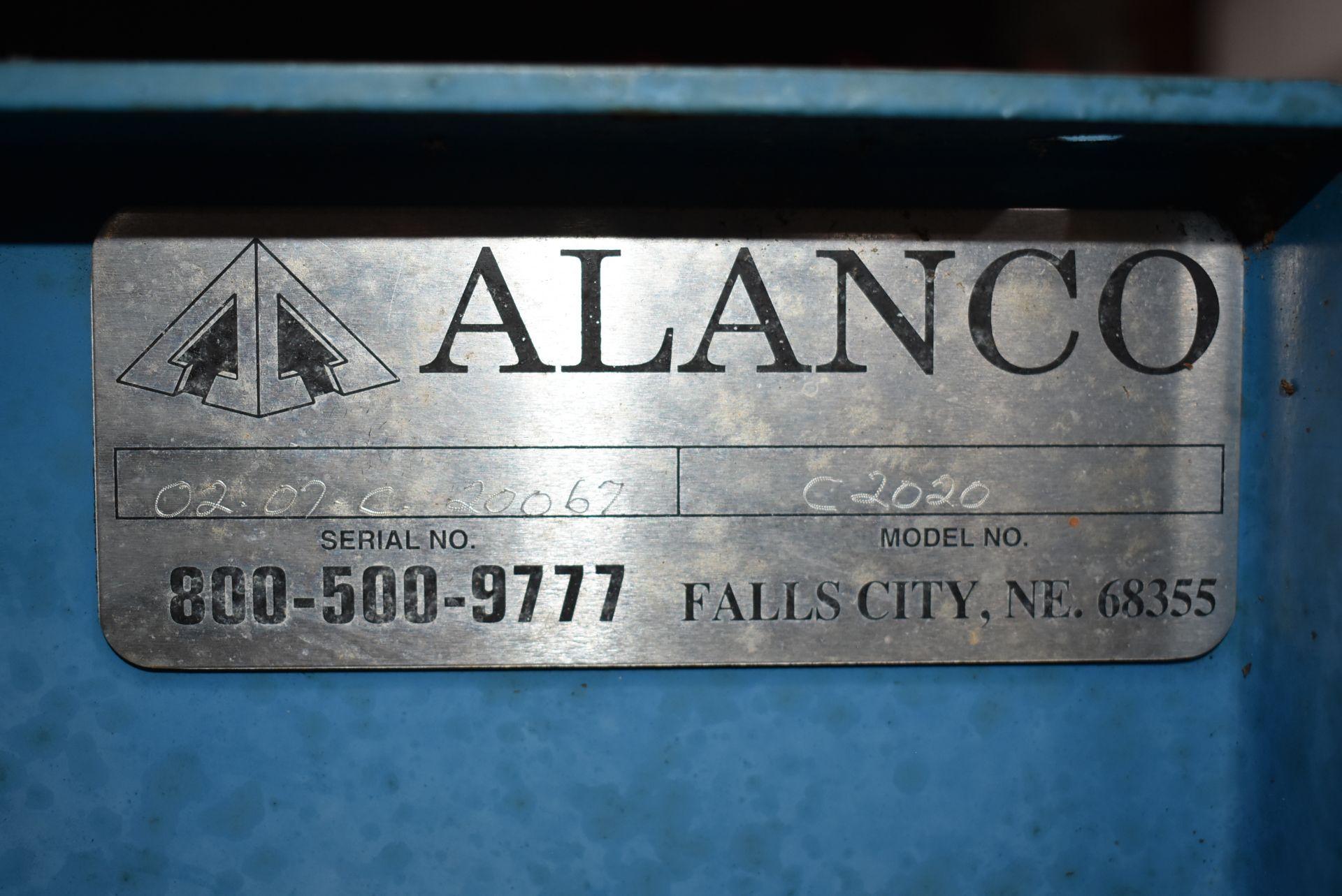 Alanco Environmental Model #C2020 Blower w/20 HP Motor - Image 2 of 3