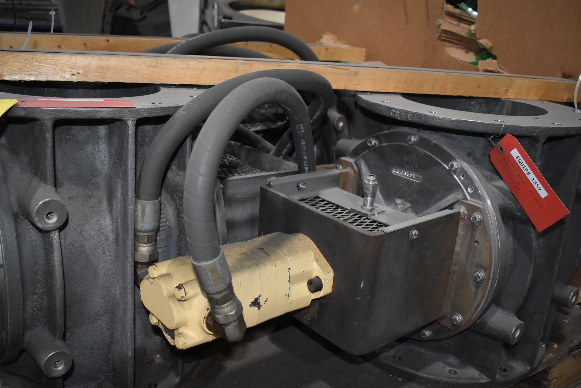 Qty. (4) Buhler Model #USP-50 Air Locks, Hydraulic Motors - Image 4 of 4