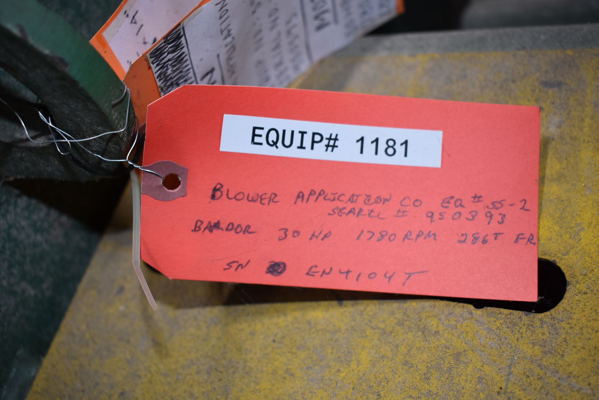 Blower Application Company, 30 HP Blower Unit - Image 2 of 3
