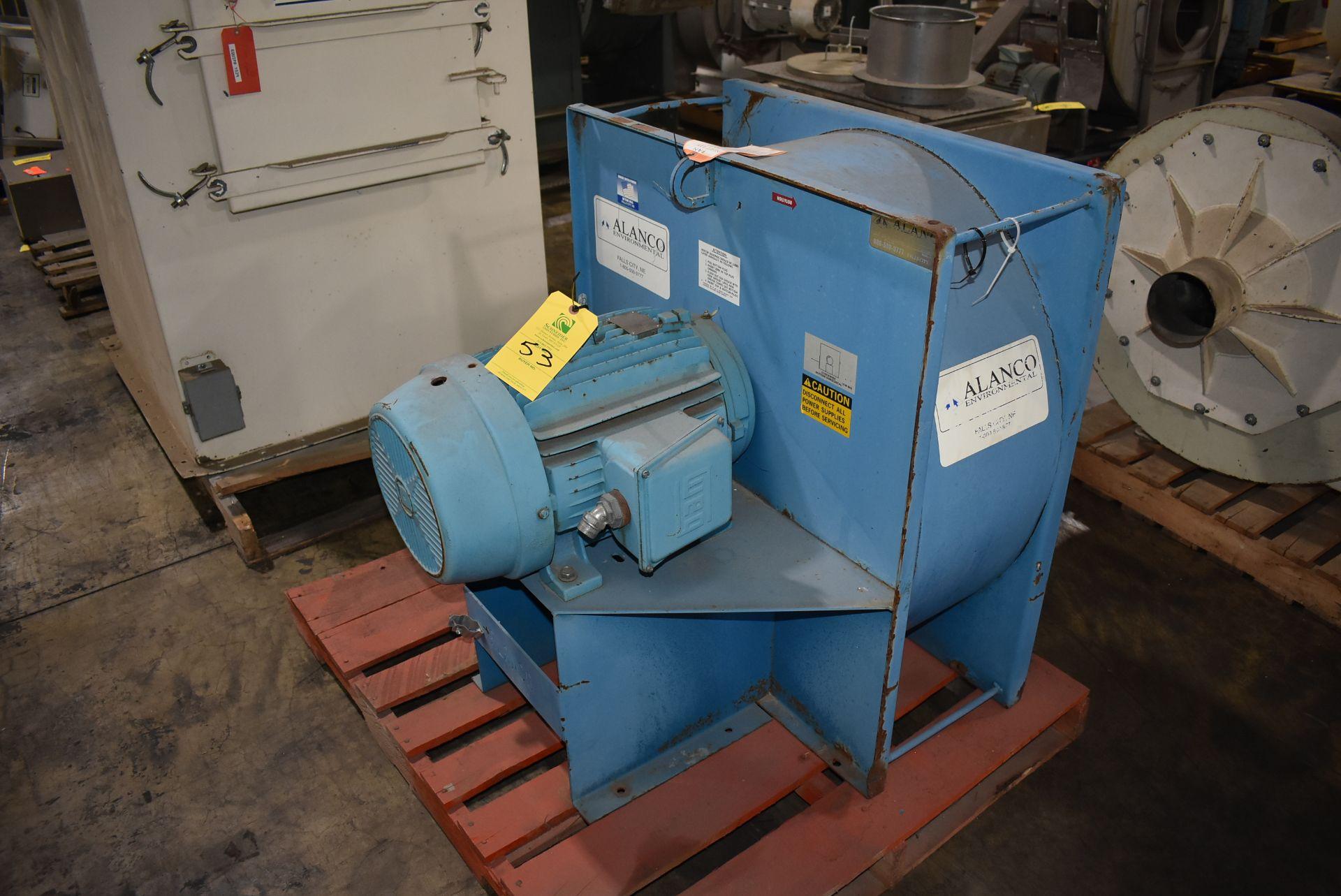 Alanco Model #C20-20 Fan w/20 HP Motor