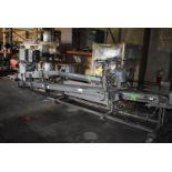 "Taylor Products Motorized Belt Conveyor, 18' Length x 7"" Wide Belt"