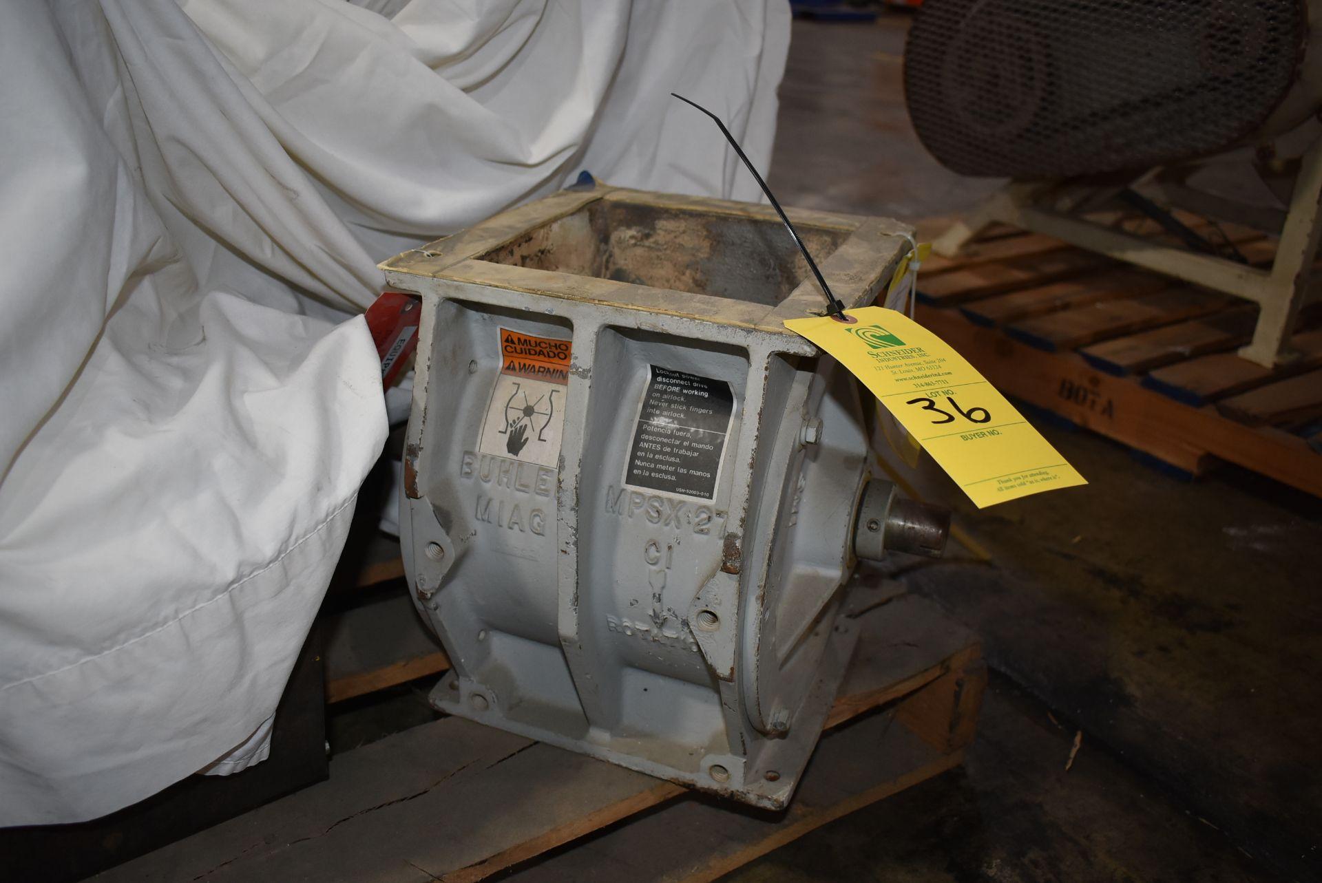 """Buhler Type MPSX-27 8"""" x 8"""" Air Lock"""