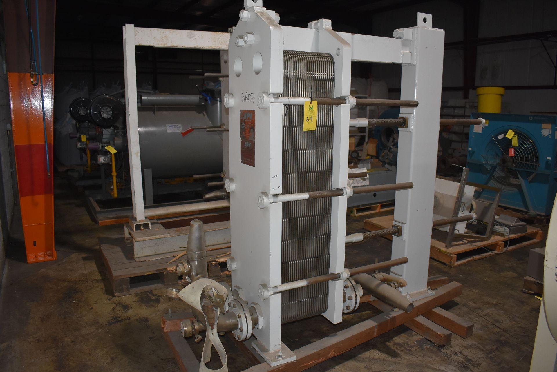 APV Paraflow Type R55 Heat Exchanger, SN 14466