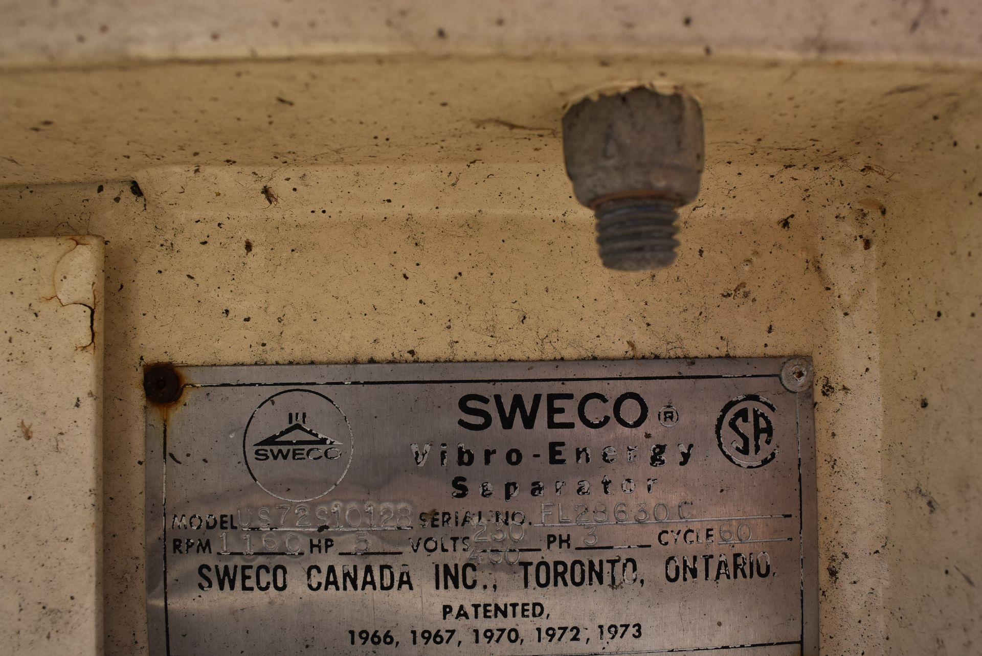 SWECO Model #US72510128 Vibratory Separator - Image 2 of 4
