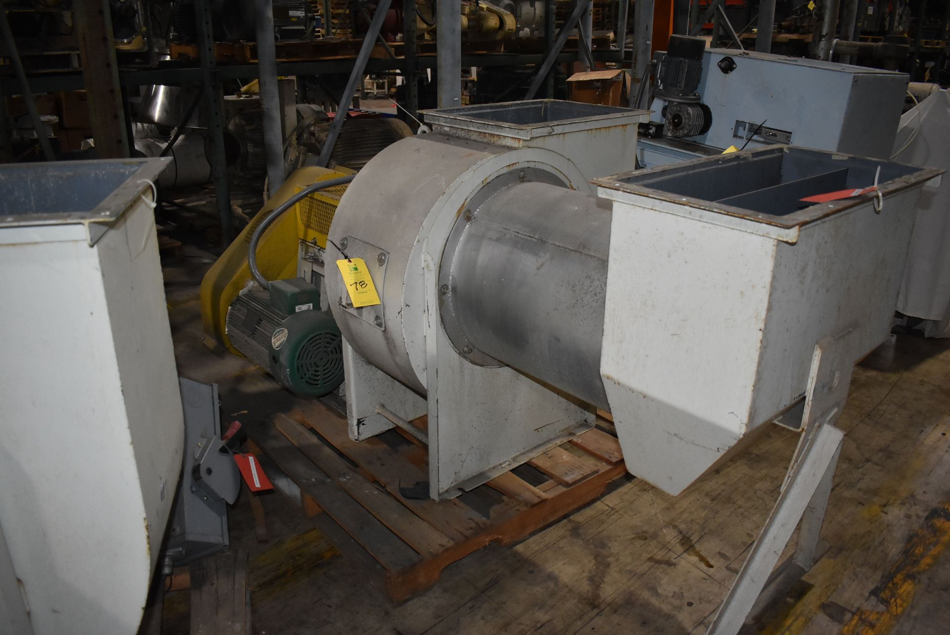IAP Inc. Blower w/Marathon 20 HP Motor