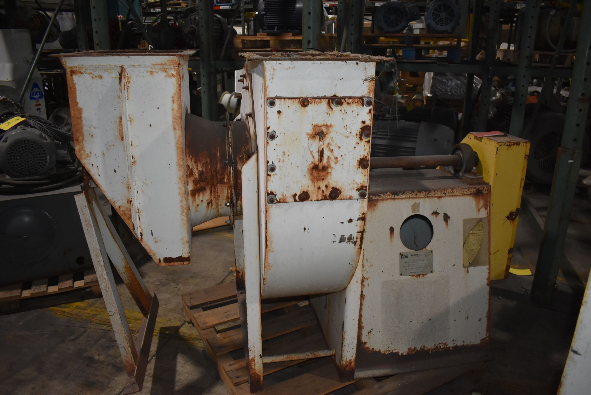 Air Tech Model #261-IRO Blower w/20 HP Motor - Image 4 of 4
