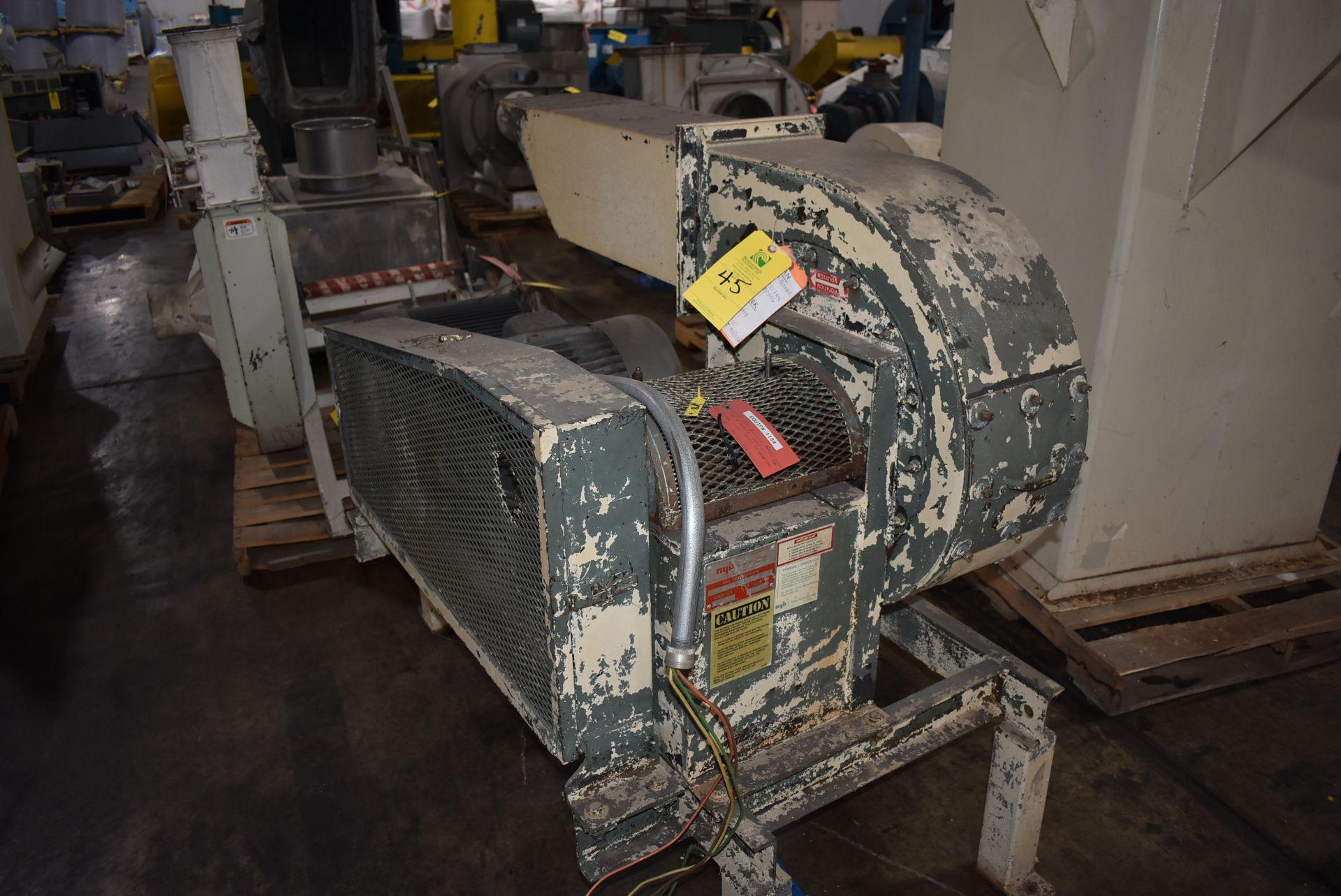 New York Blower, Size 174 w/15 HP Motor