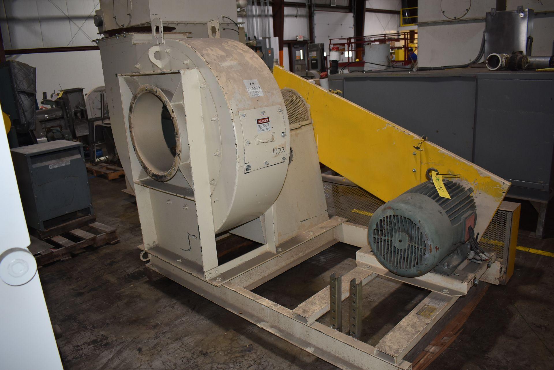 Alanco Environmental Model #334DH Blower w/50 HP Motor