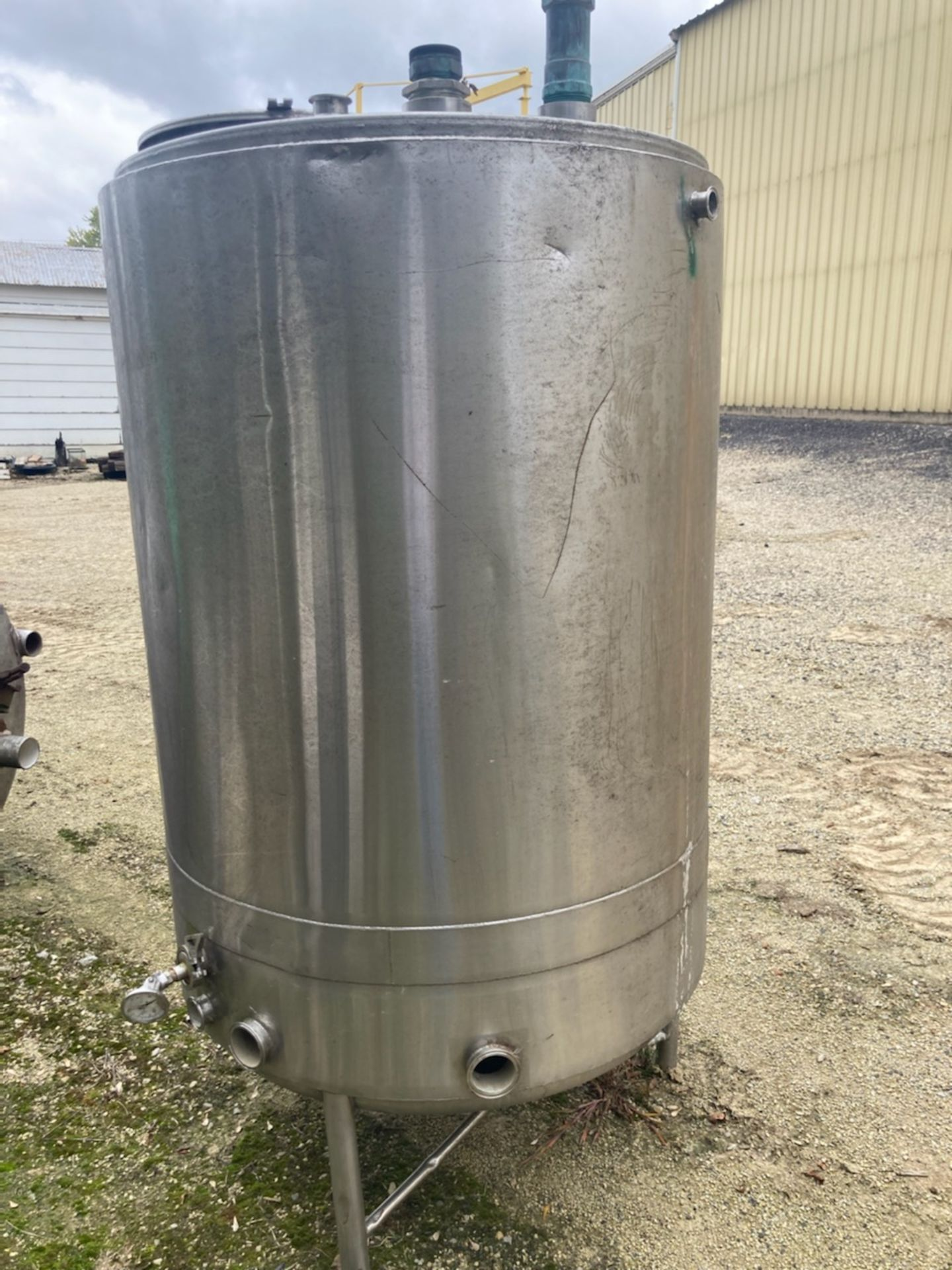 Stainless Steel Tank - Approximate 250 Gallons