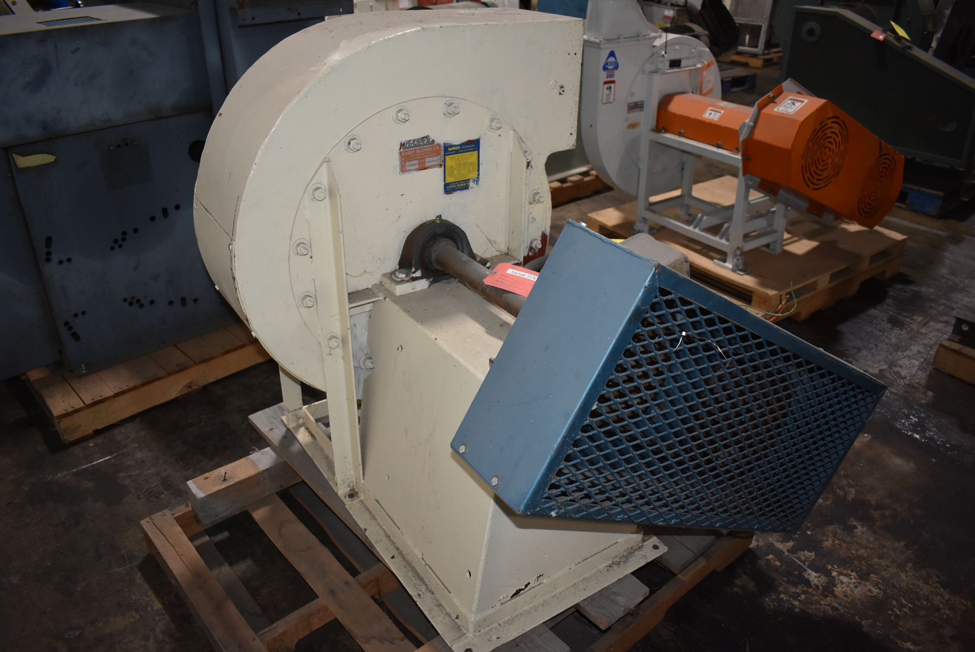 Barry Blower Company Type RD Blower, Size 21 w/15 HP Motor - Image 3 of 3