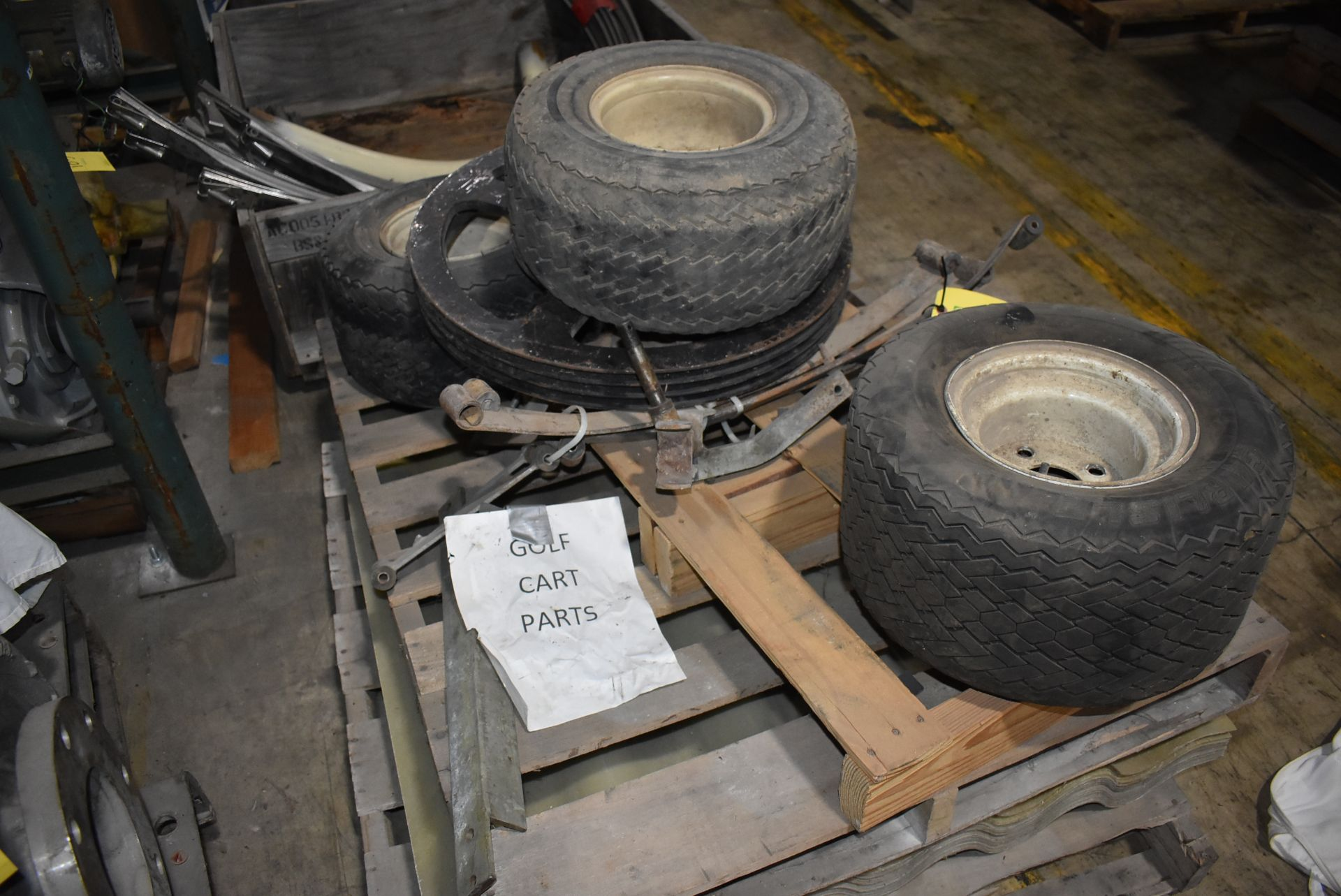 Golf Cart Components/Fairway Pro Tires - Image 2 of 2