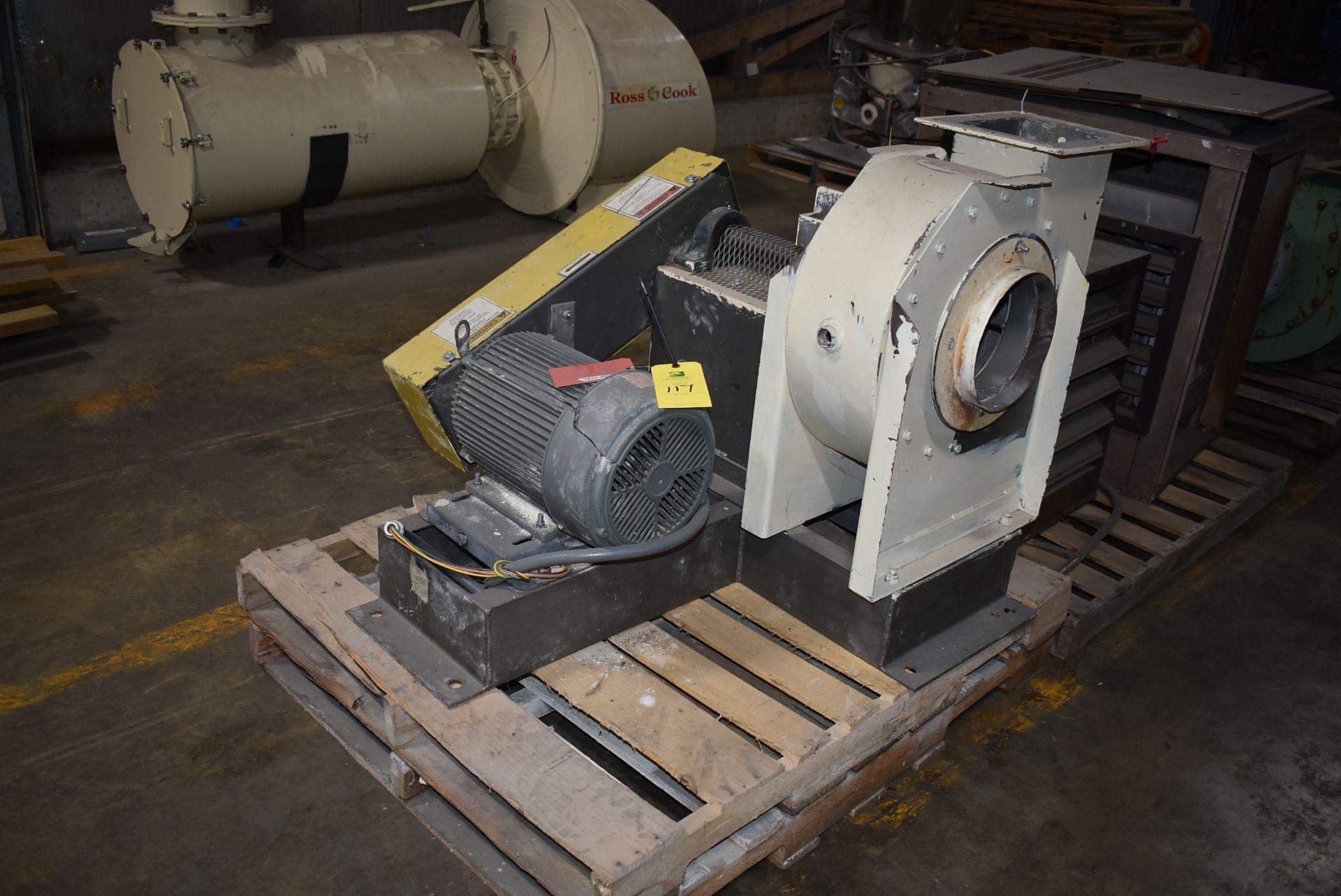 Mac #SB-6071 Fan/Blower w/ 7 1/2 HP Motor