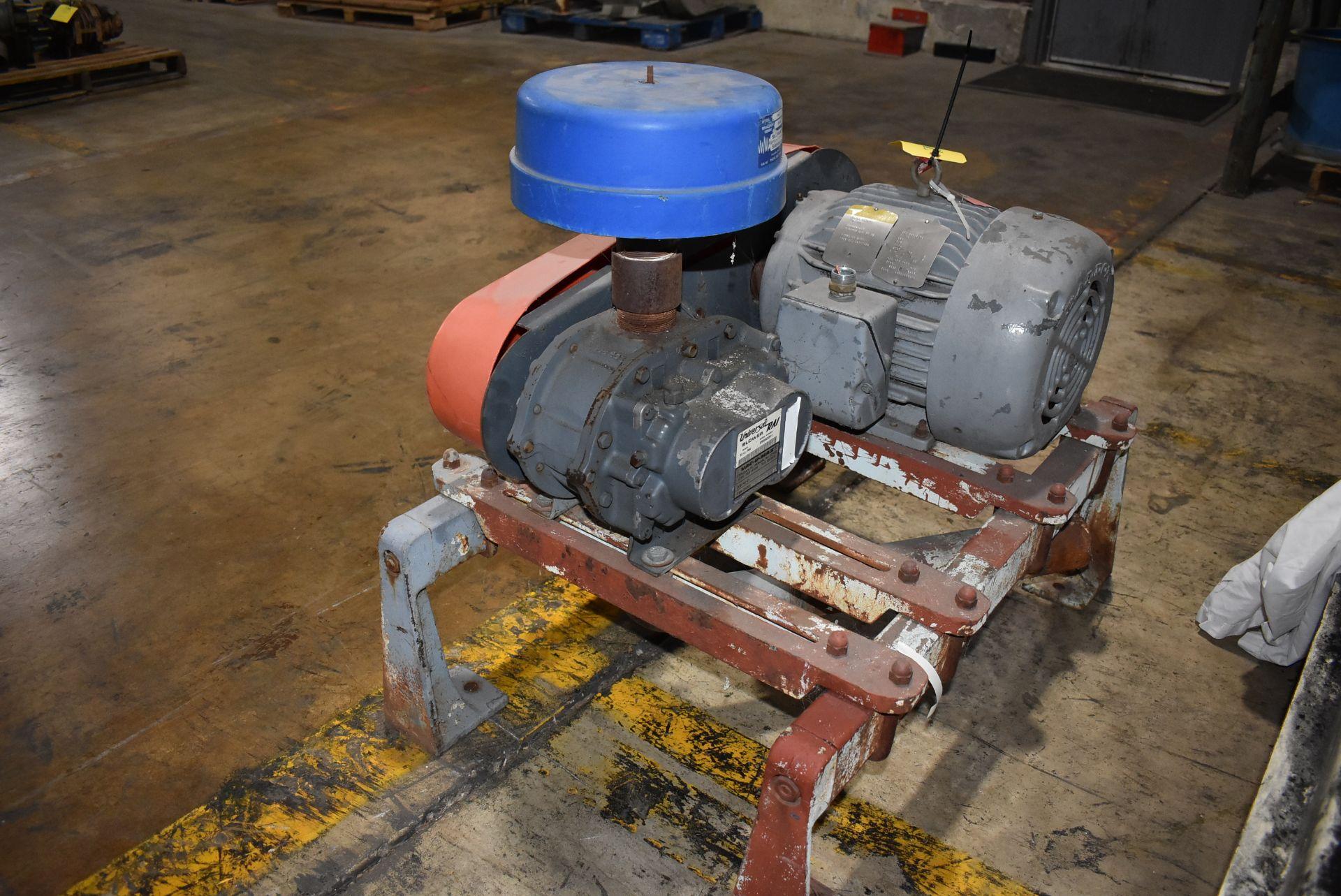 Universal Blower Model #33U-RAI, Includes Baldor 7 1/2 HP Motor - Image 3 of 3