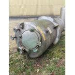Soda Ash Tank - SN 94-2116 - Approximate 700 Gallons