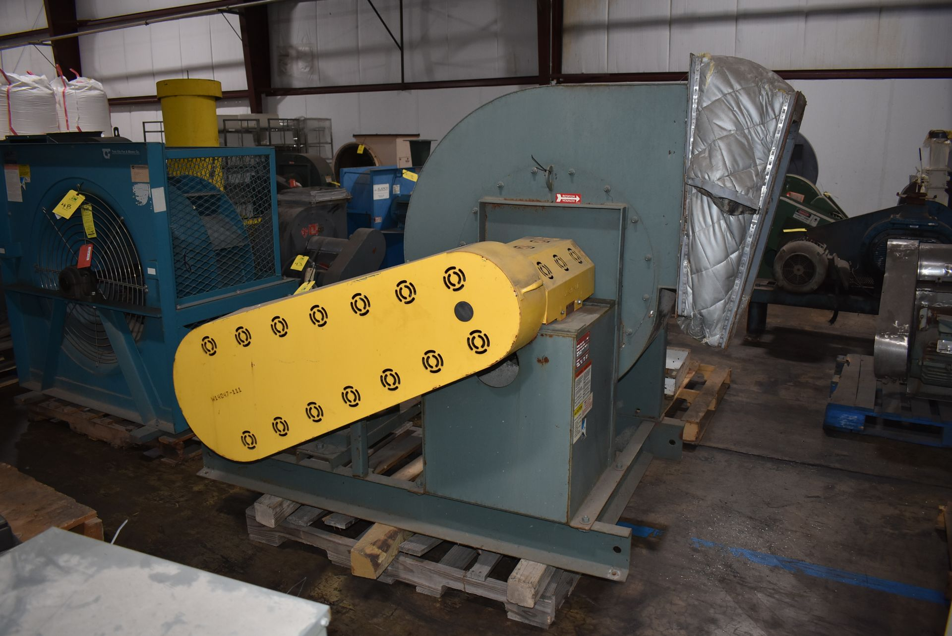 New York Blower, ACF/PLR Fan w/40 HP Motor - Image 3 of 4