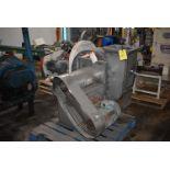 New York Blower, Series 20 GI Fan, Size 224 w/10 HP Motor, Stainless Steel Chute
