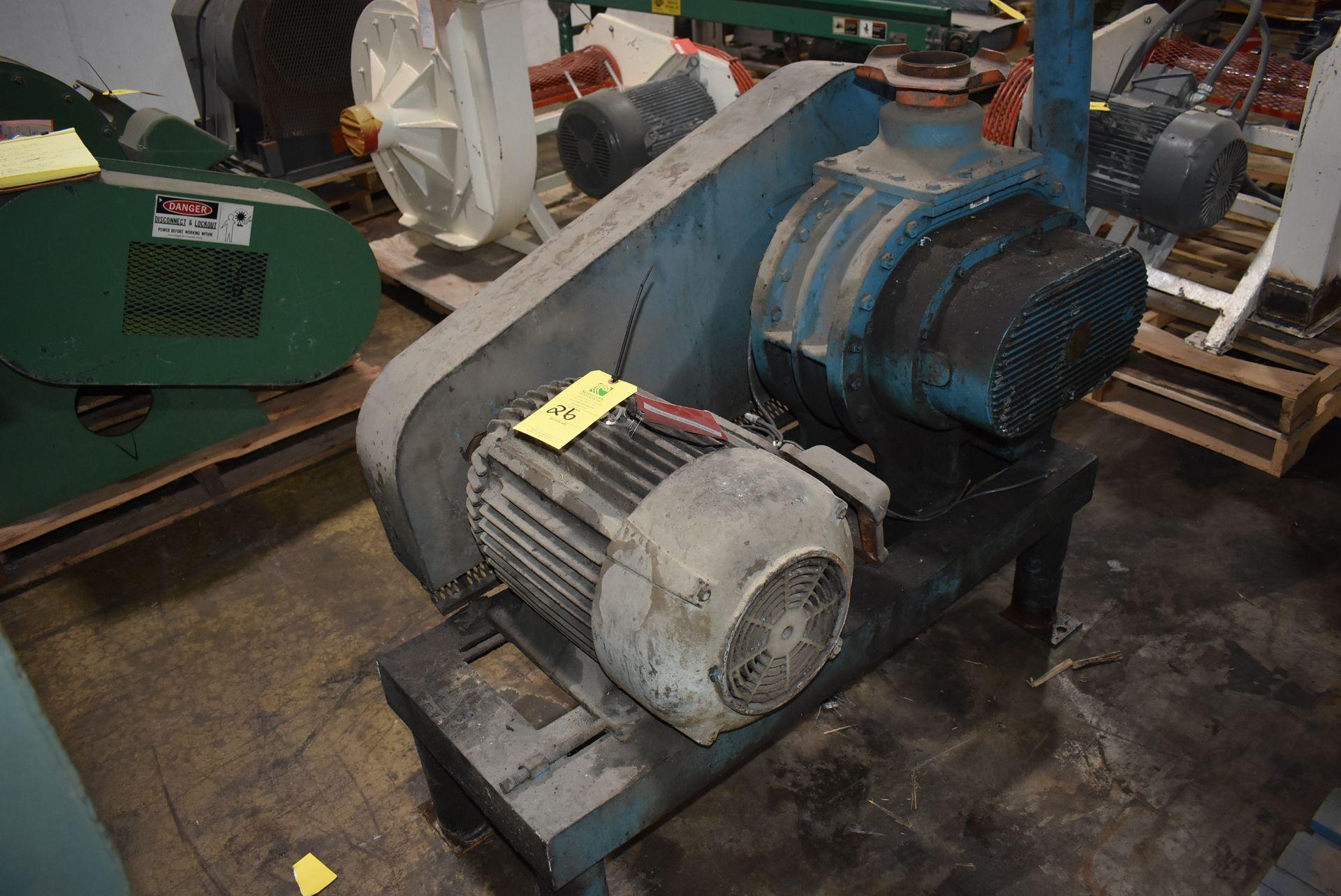 Sutor Size 8H Vacuum Pump w/20 HP Motor