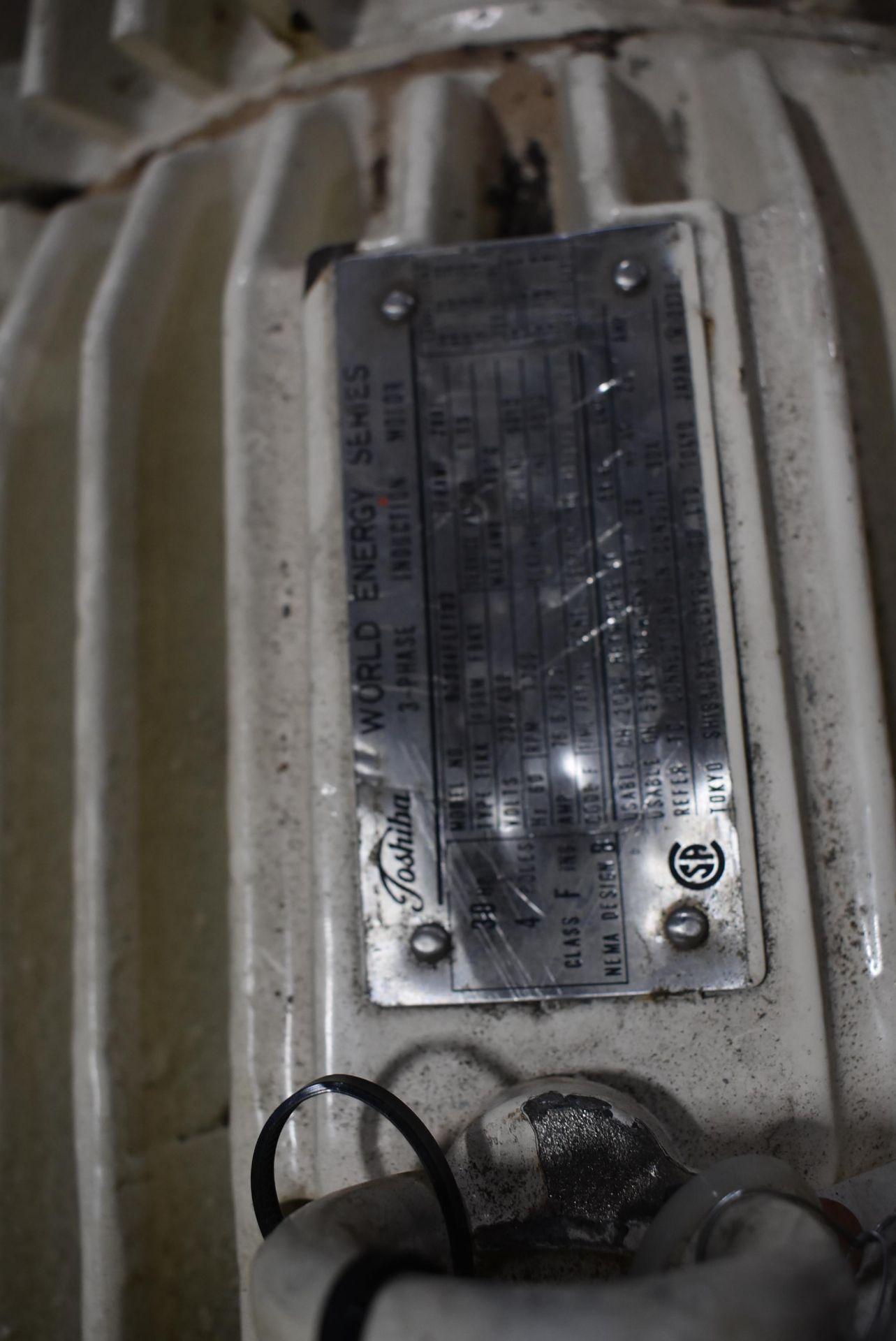 Toshiba 30 HP Motor, 230/460 Volt, 1750 RPM - Image 2 of 2