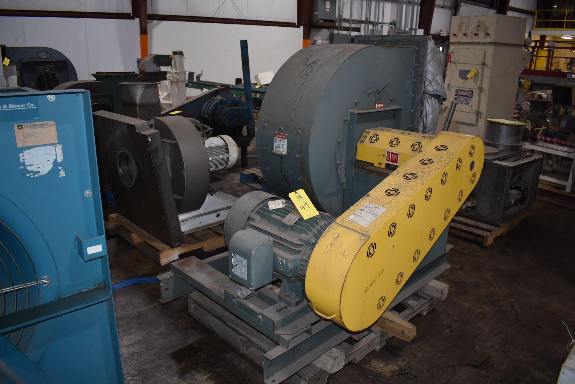 New York Blower, ACF/PLR Fan w/40 HP Motor