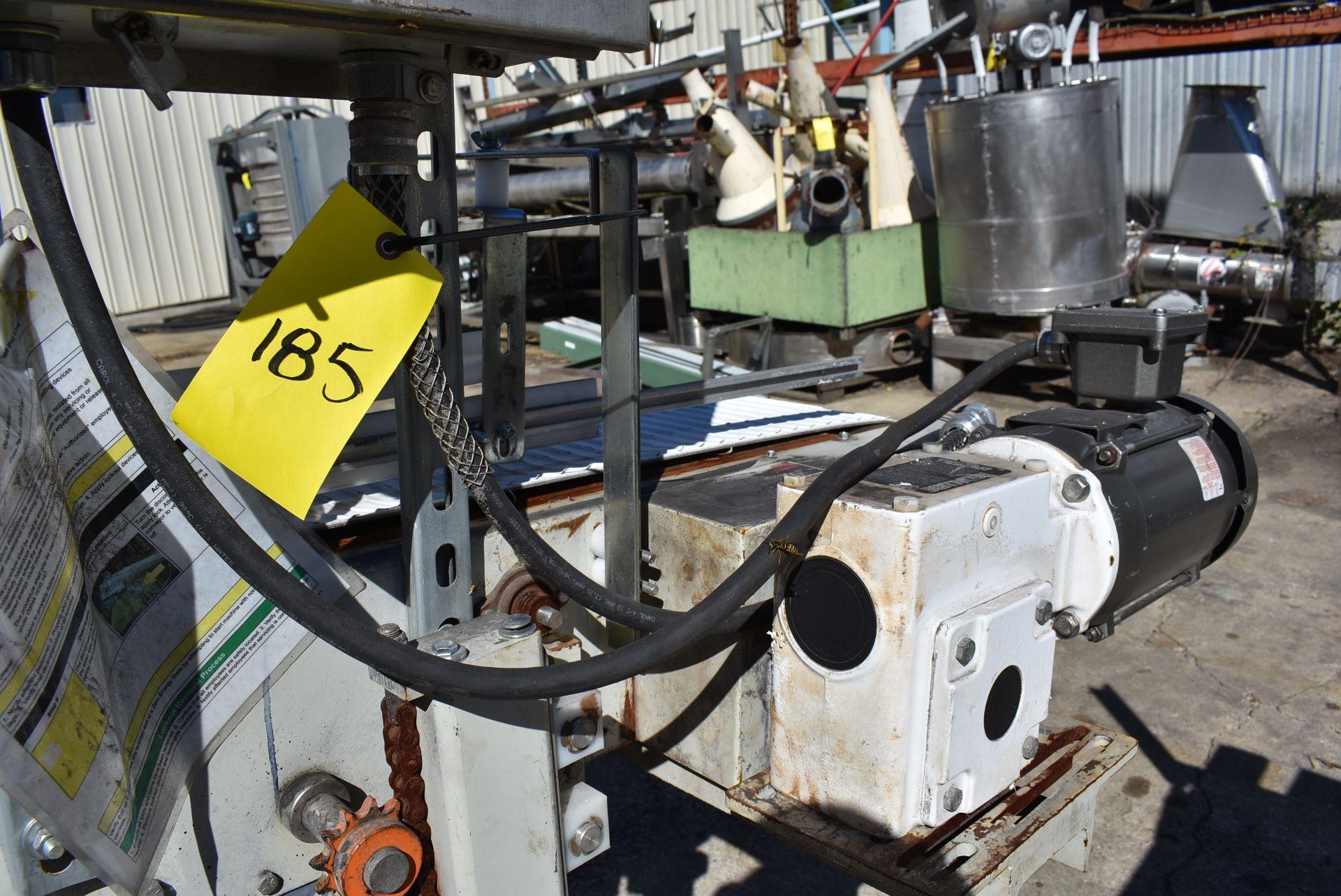 "Motorized Belt Conveyor, 9' Length x 10"" Wide Belt - Image 3 of 3"