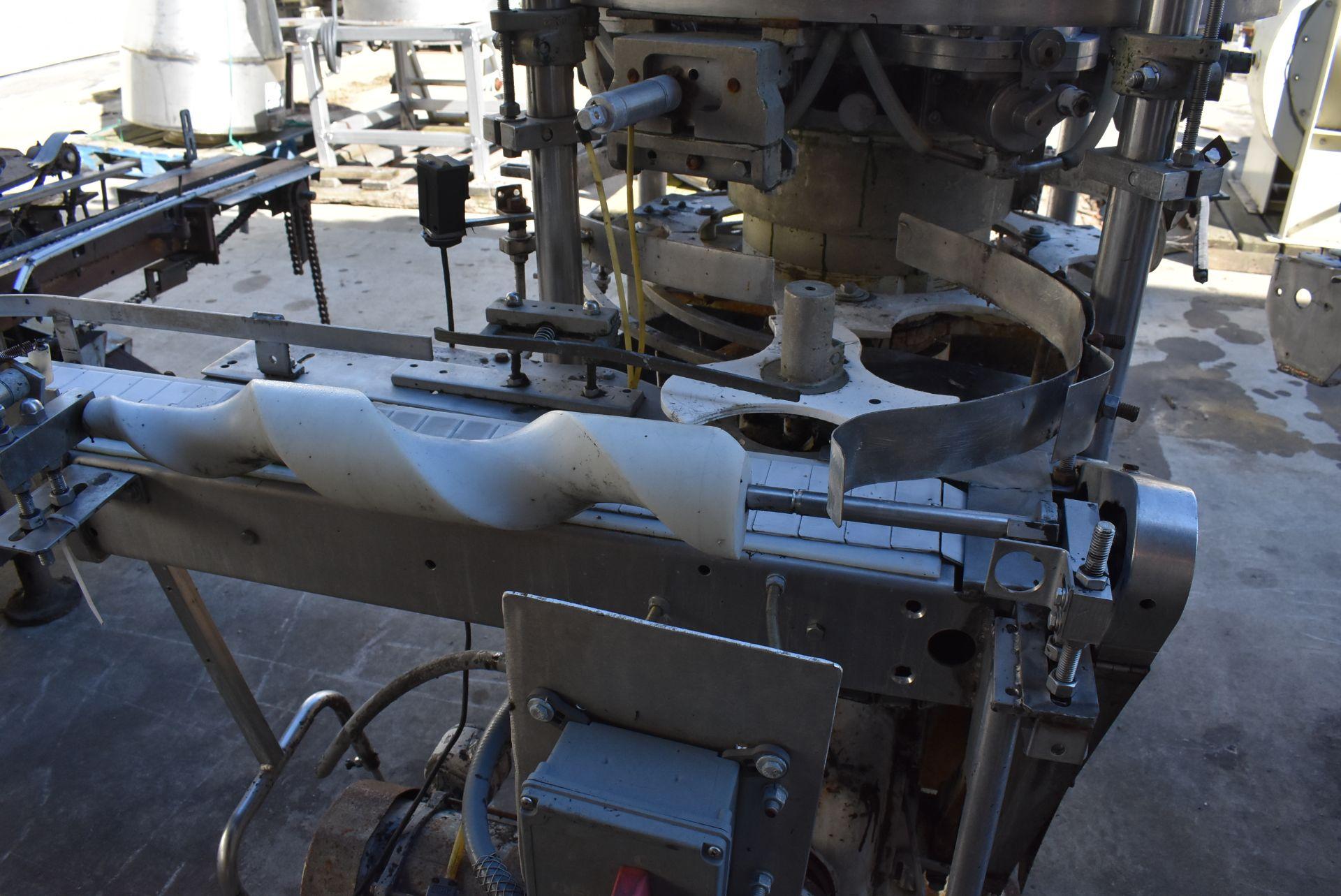 Pfaudler 7-Station Model #RP607-RH Filler, SN R579-3122 - Image 3 of 3