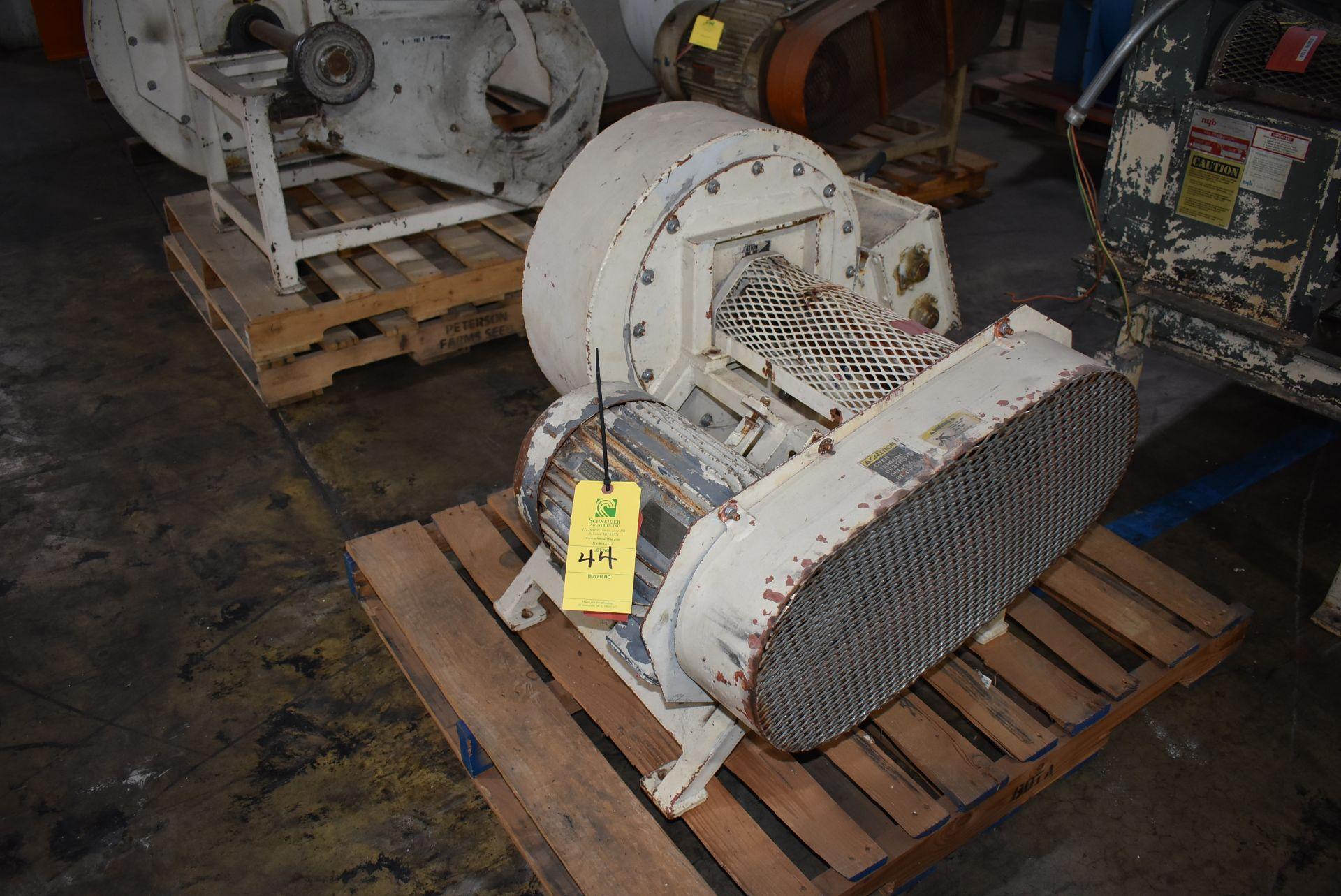Kice Air Blower w/10 HP Motor