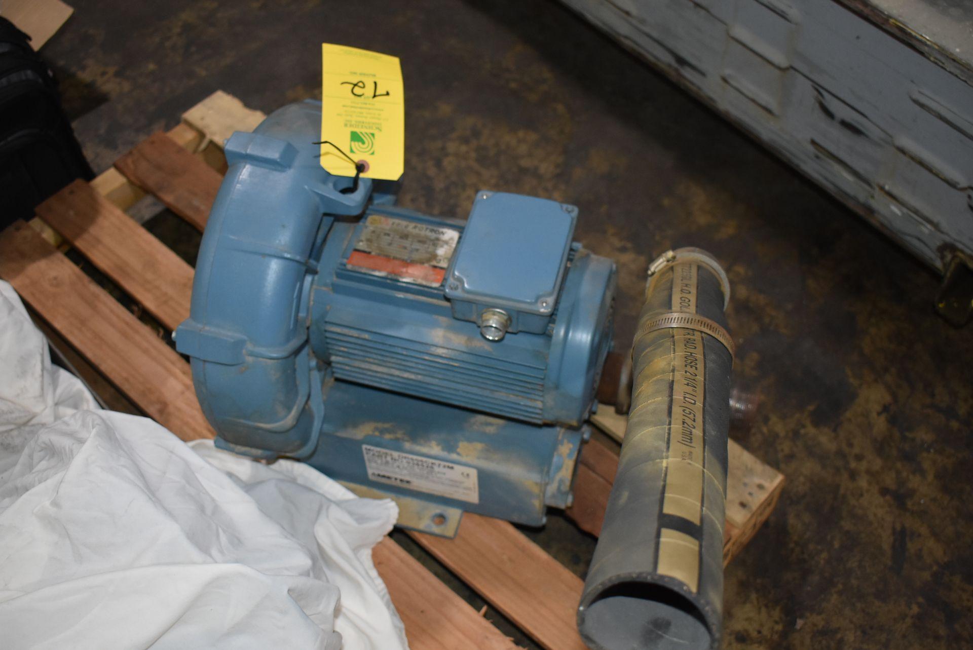 Ametek EG Rotron Model #DR606CK72M Blower w/Motor - Image 3 of 3