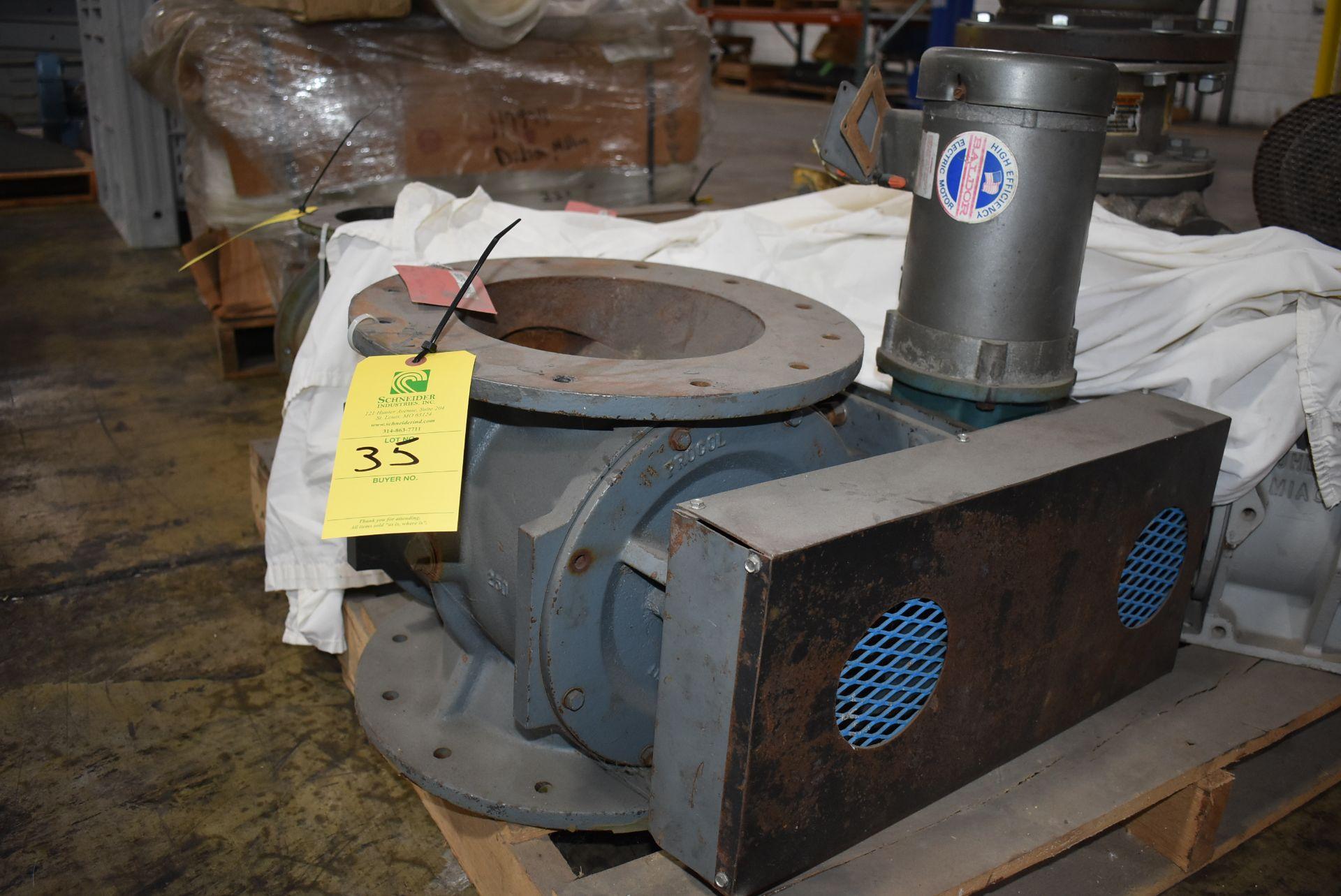 """Procol 9"""" Air Lock w/Baldor 1 HP Motor"""