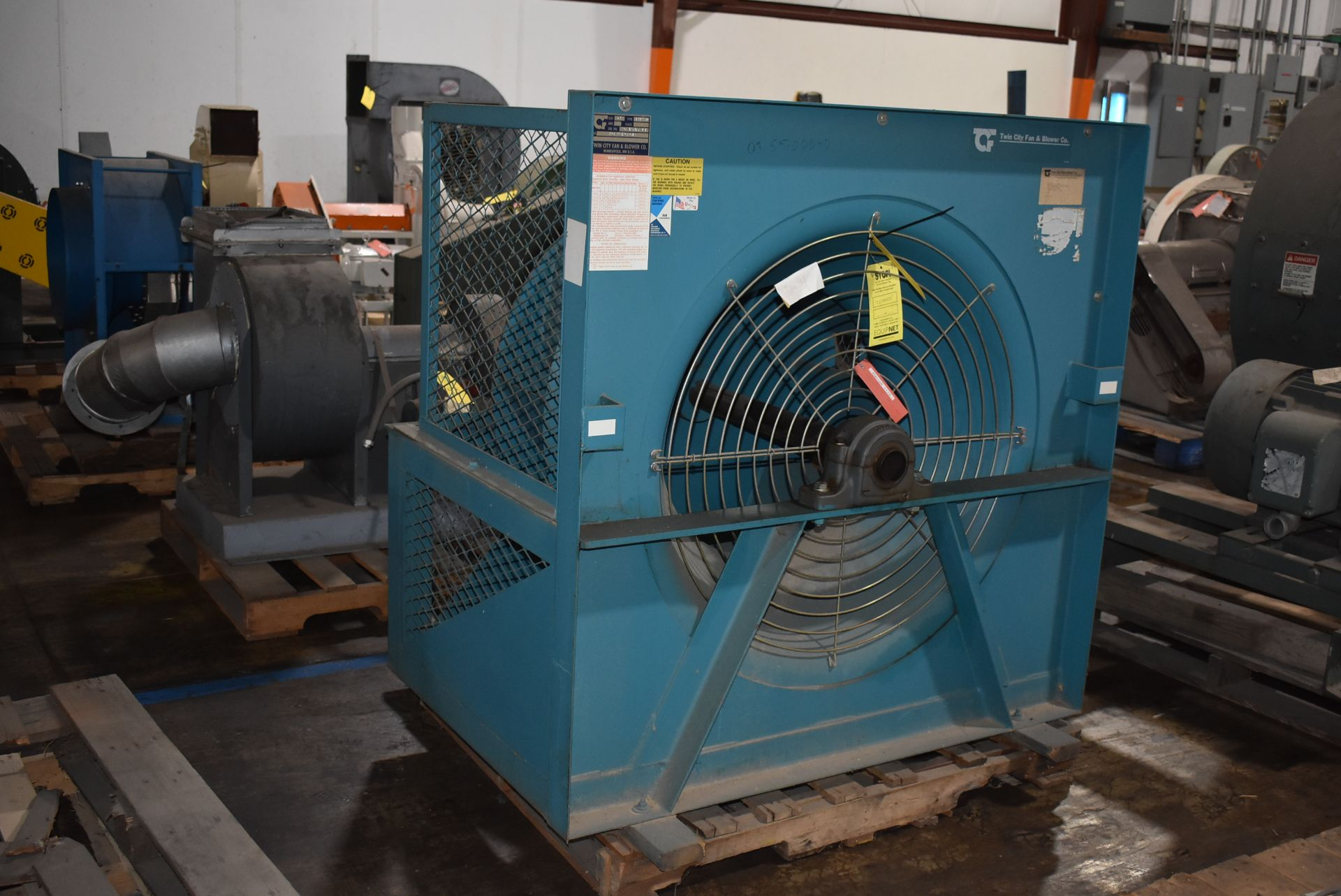 Twin City Type AFPP-SW Blower, Size 36 w/Enclosure - Image 4 of 4