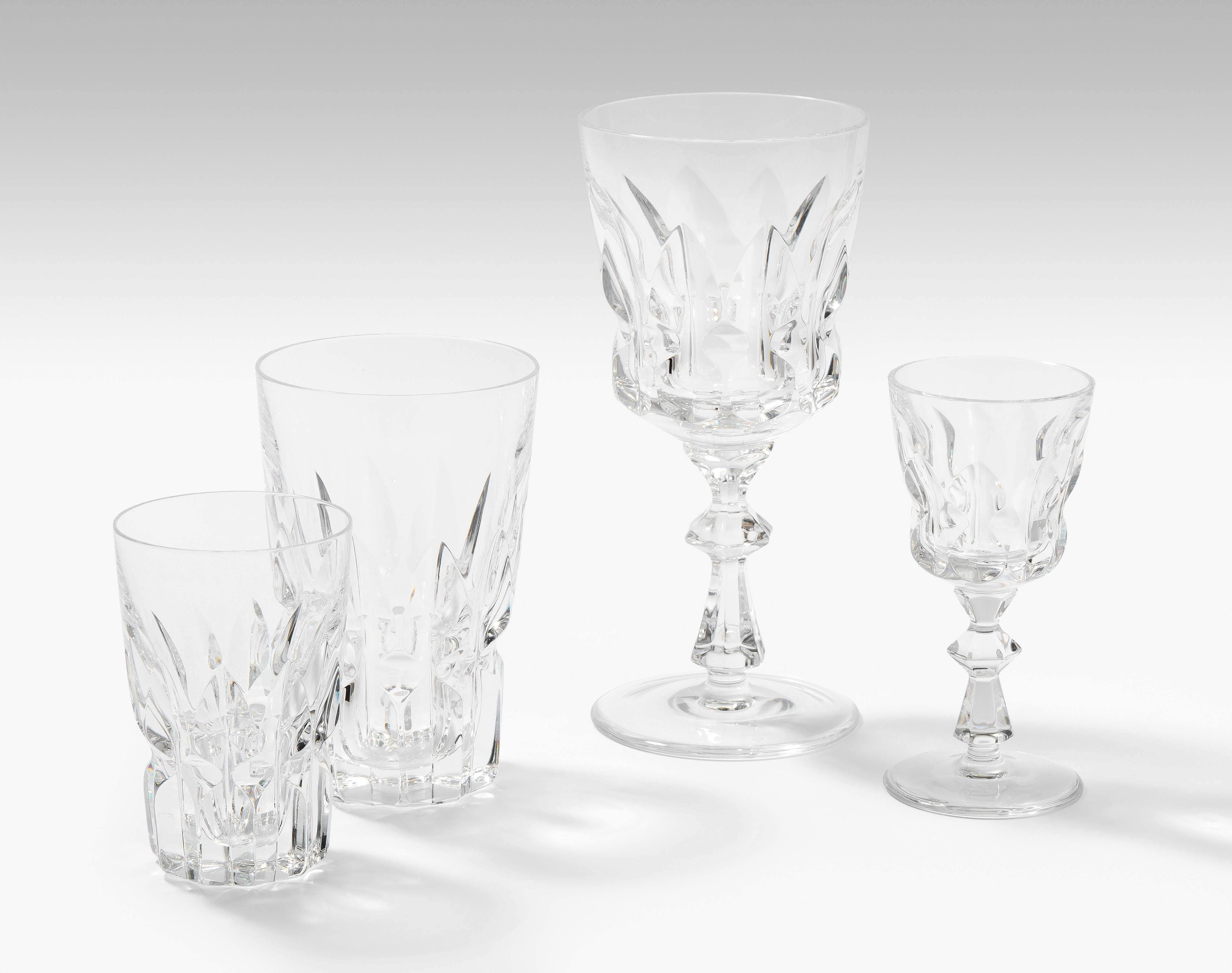 Peill & Putzler, Gläserserviceteile