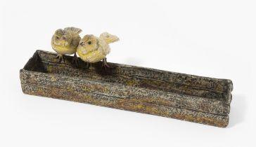 Tierfigurengruppe: Vogelpaar