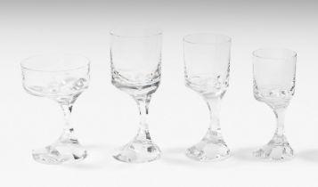 Baccarat, Gläserservice