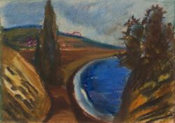 Horst Holinski(Weimar 1936 -, deutscher Maler u. Grafiker, Std. a.d. AK Dresden, zahlr