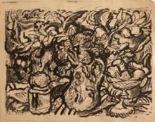 Feliks Büttner (Merseburg 1940 -, deutscher Maler u. Grafiker, Abldg. zum Dekorateur