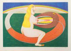 Friedrich Schröder-Sonnenstern(Kaukehemen 1892 - 1982 Berlin, deutscher Zeichner u. M