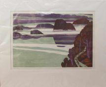 Uwe Wenk-Wolff(Mannheim 1929 -, deutsche Maler u. Zeichner, Std. a.d. KA Düsseldorf u