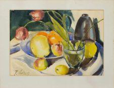 Frank Glaser(Wernigerode 1924 -, deutscher Maler u. Grafiker, Studium a.d. AK Berlin-W