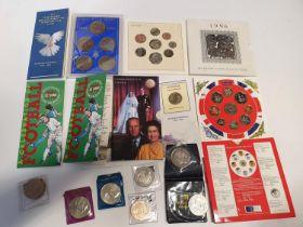A good quantity of Commemorative British Coinage.