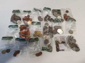 A very large quantity of Irish decimal and euro Coinage various dates and denominations.