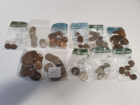 A large quantity of Old Irish Coinage, various dates and denomination.